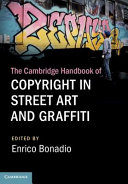 Cambridge handbook of copyright in street art and graffiti document cover