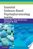Essential Evidence Based Psychopharmacology