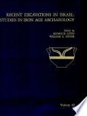 Recent Excavations in Israel Book PDF