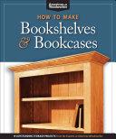 How to Make Bookshelves   Bookcases