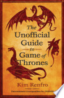 Book The Unofficial Guide to Game of Thrones