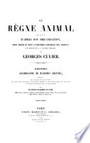 Le R  gne Animal Distribu   D apr  s Son Organisation