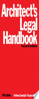 Architect s Legal Handbook