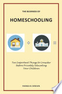 The Business of Homeschooling