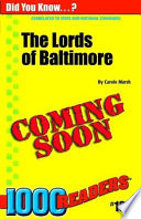 Lords of Baltimore  Founders of Maryland