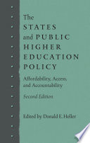 The States and Public Higher Education Policy