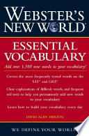 Webster s New World Essential Vocabulary