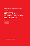 download ebook auditory physiology and perception pdf epub