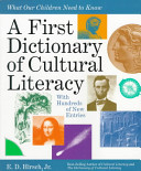 A First Dictionary of Cultural Literacy