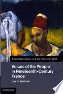 Voices of the People in Nineteenth Century France