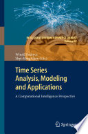 Time Series Analysis  Modeling and Applications