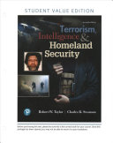 Terrorism  Intelligence and Homeland Security  Student Value Edition