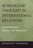 Schools of Thought in International Relations