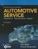 Lab Manual for Gilles Automotive Service