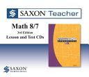Saxon Teacher Math 8 7