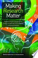 Making Research Matter