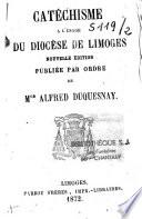 Catéchisme à l'usage du diocèse de Limoges
