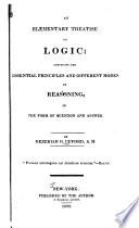 An elementary treatise on logic