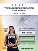 Thea Texas Higher Education Assessment Bonus Edition  Thea  Ppr EC 12  Generalist 4 8 111 Teacher Certification Study Guide