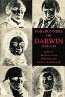 Forerunners of Darwin  1745 1859