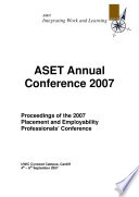 ASET Annual Conference 2007