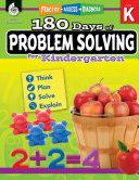 180 Days of Problem Solving for Kindergarten  Practice  Assess  Diagnose  ePub 3