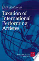 Taxation Of International Performing Artistes