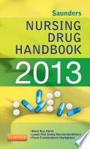 Saunders Nursing Drug Handbook 2013