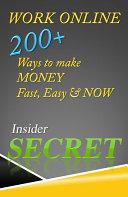 Work Online 200 plus ways to make money