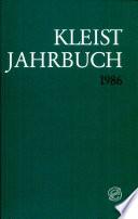 Kleist-Jahrbuch 1986