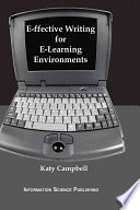 E ffective Writing for E learning Environments