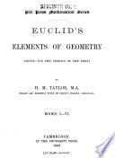 Euclids   Elements of Geometry