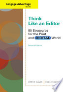Cengage Advantage Books  Think Like an Editor  50 Strategies for the Print and Digital World
