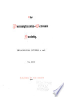 The Pennsylvania-German Society