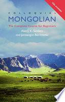 Colloquial Mongolian (eBook And MP3 Pack)