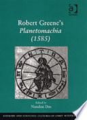 Robert Greene's Planetomachia (1585)