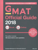 GMAT Official Guide 2018 Bundle  Books   Online