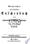 Gothaisches genealogisches Taschenbuch