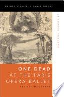 One Dead At The Paris Opera Ballet