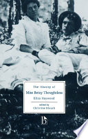 download ebook the history of miss betsy thoughtless pdf epub