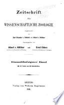 Zeitschrift für wissenschaftliche Zoologie