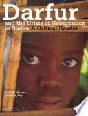 Darfur and the Crisis of Governance in Sudan Contribute Chapters About Different Aspects Of