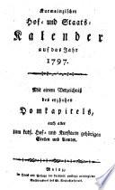 Kurmainzischer Hof  und Staats Kalender