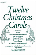 Twelve Christmas Carols Set 1