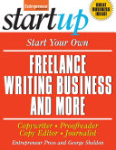 download ebook start your own freelance writing business and more pdf epub