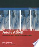 Clinician s Guide to Adult ADHD