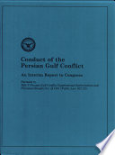 Conduct Of The Persian Gulf Conflict book