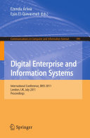 download ebook digital enterprise and information systems pdf epub