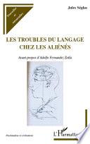 illustration Les troubles du langage chez les aliénés