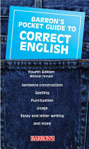 Pocket Guide to Correct English